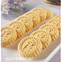 炒米饼机_全自动杏仁饼机_普鲁森机械厂厂家直销