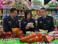 广饶县开展食品流通领域专项执法