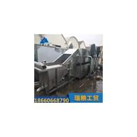 新型大姜清洗设备 连续式高压喷淋洗姜机