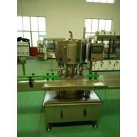 全自动回转负压灌装封口组合机  牛奶灌装机  酱油醋灌装机