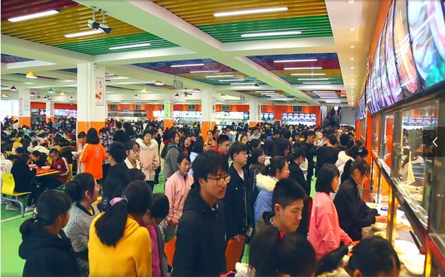 湖北省隨州市隨縣第一高級中學以食堂標準化建-鄭州網站建設