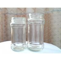 调料瓶调料酱瓶四方形玻璃瓶