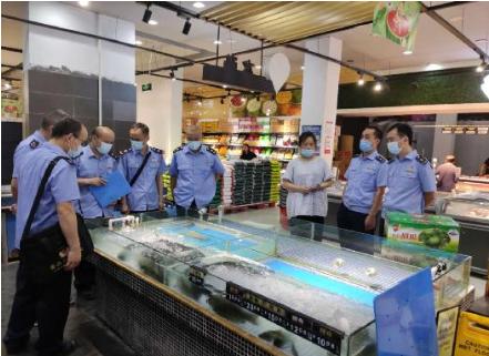 永顺县开展海鲜类产品专项检查