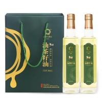 山美大别山油茶籽油500ml*2瓶礼盒装山茶油节日送礼品