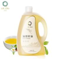 山美·大别山茶油家庭装2L低油烟食用油低温压榨油茶籽油
