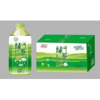 大量供应金登河绿茶1L,厂家批发,厂家直发,质量无忧